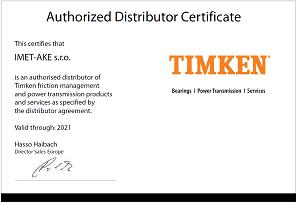 IMET-AKE Autorizovaný distribútor ložísk TIMKEN