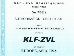 Autorizovaný distribútor ložísk KLF-ZVL IMET-AKE
