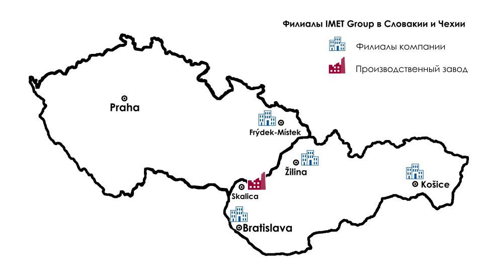karta filialov IMET-AKE SR CR_ru