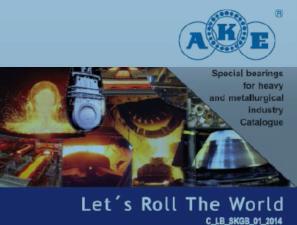 Špeciálne ložiská AKE pre metalurgický priemysel aťažké strojárstvo